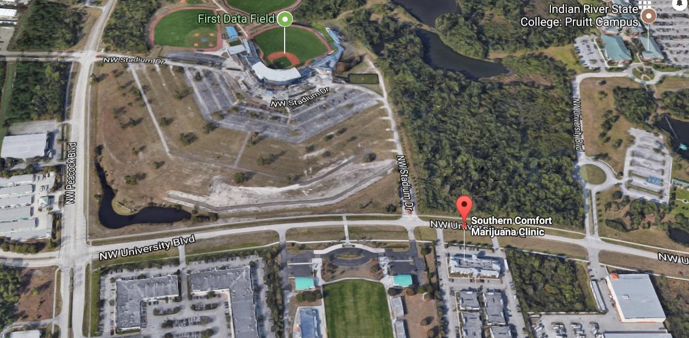 Pruitt Campus Map.Southern Comfort Marijuana Clinic Google Maps Southern Comfort