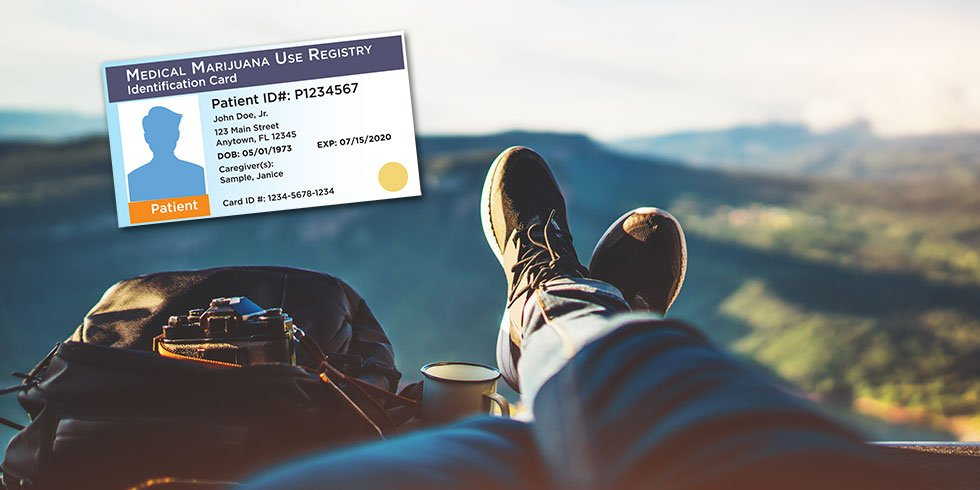 travel with medical marijuana ID card