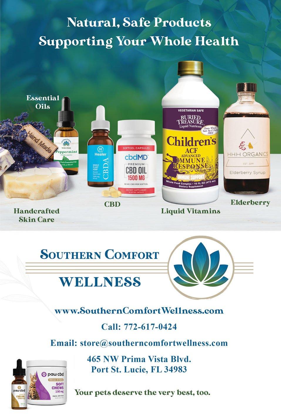 Wellness Menu Front